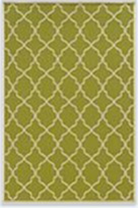 Kerry - Green/Cream - Large Rug