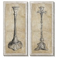 Duscha - Tan/Gray - Wall Art Set (2/CN)