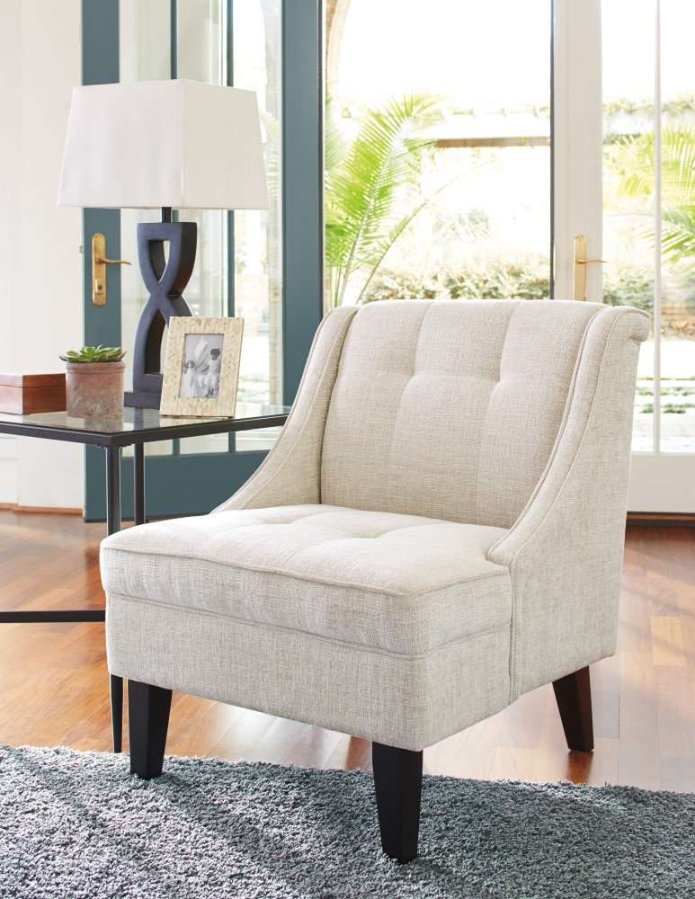 Beau Cerdic   Cream   Accent Chair
