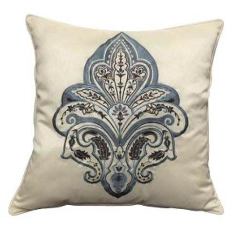 Mykel - Cream/Blue - Pillow