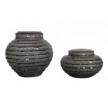 Devonee - Antique Gray - Jar Set (2/CN)