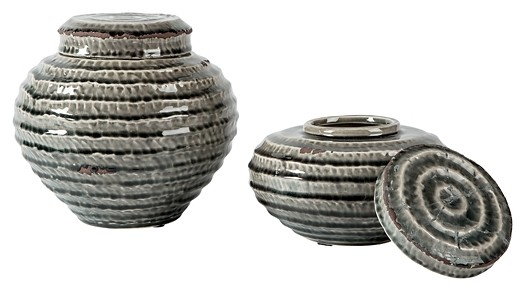Devonee - Antique Gray - Jar Set (2/CN)