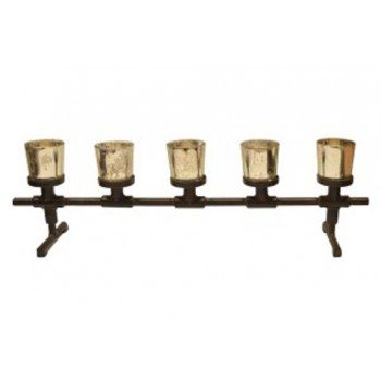 Diara - Antique Gray - Candle Holder