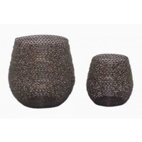 Desdemona - Bronze Finish - Candle Holder (Set of 2)