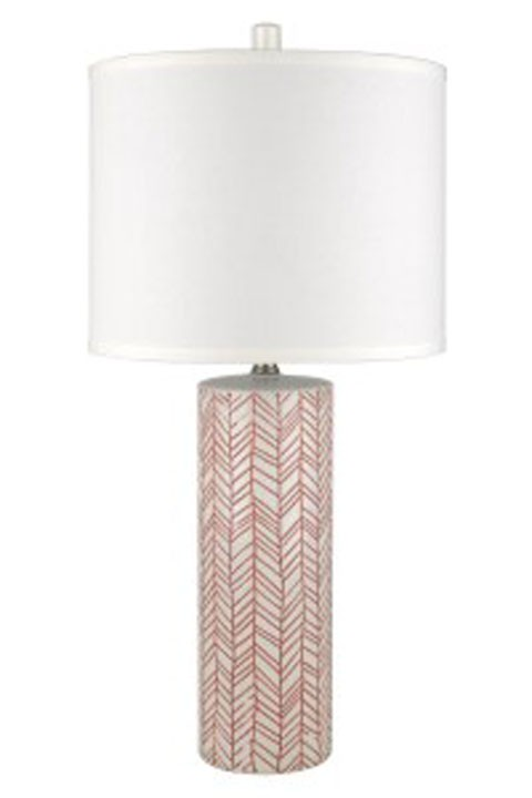 Jaci - Paprika - Ceramic Table Lamp (2/CN)