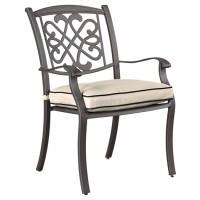 Burnella - Brown - Chair with Cushion (4/CN)