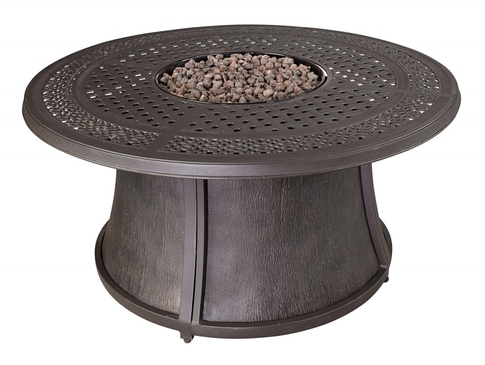 Burnella Fire Pit Table Base P456 776b Fire Pits Overstock