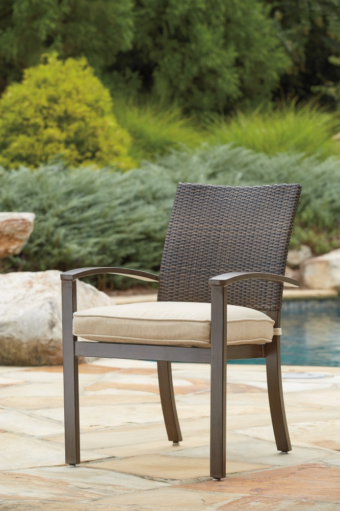 Moresdale - Brown - Chair with Cushion (4/CN)