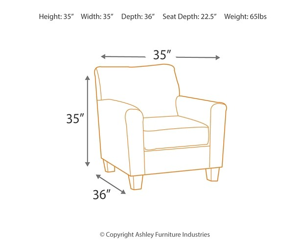 Farouh - Ash - Accent Chair | 1370121 | Chairs | Furniture World ...