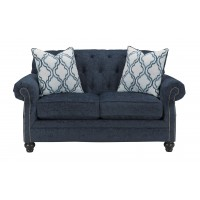 LaVernia - Navy - Loveseat