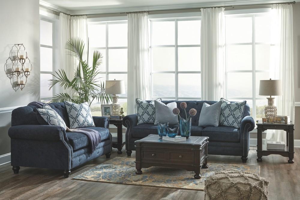 LaVernia - Navy - Sofa