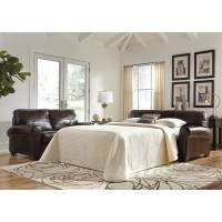 Canterelli - Chestnut - Queen Sofa Sleeper