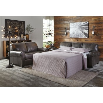 Canterelli - Gunmetal - Queen Sofa Sleeper