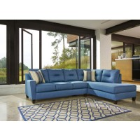 Kirwin Nuvella� Left-Arm Facing Sofa