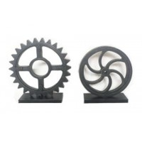 Dermot - Antique Black - Sculpture Set (2/CN)