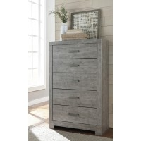 Culverbach - Gray - Five Drawer Chest