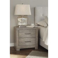 Culverbach - Gray - Two Drawer Night Stand