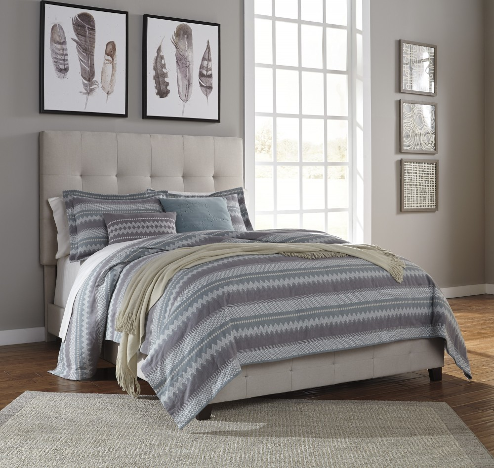 queen upholstered headboard and frame dolante multi queen upholstered bed b130481 complete beds
