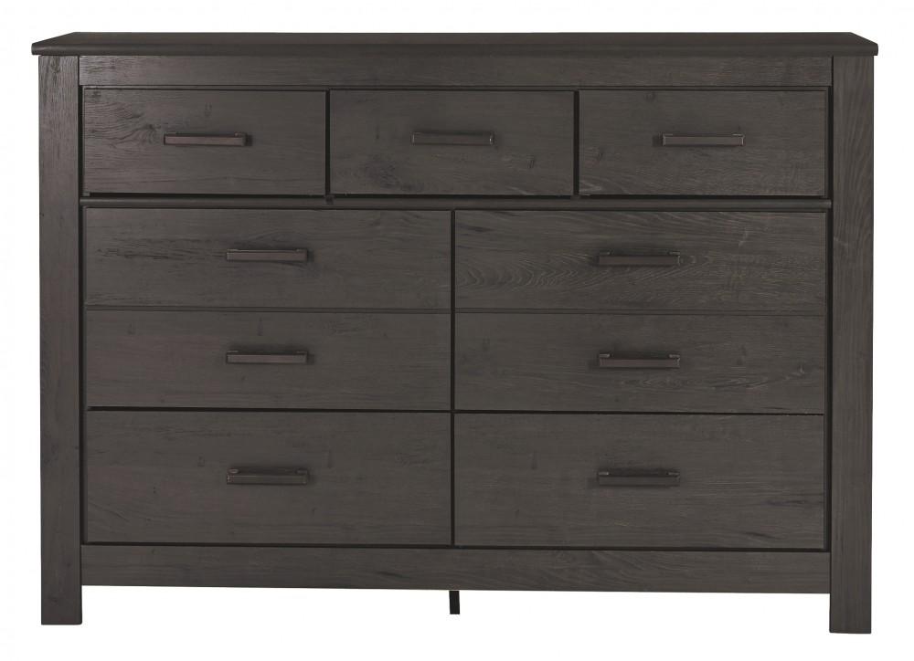 brinxton black dresser b249 31 bedroom dressers price busters furniture. Black Bedroom Furniture Sets. Home Design Ideas