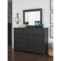 Brinxton - Black - Bedroom Mirror