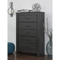 Brinxton - Black - Five Drawer Chest