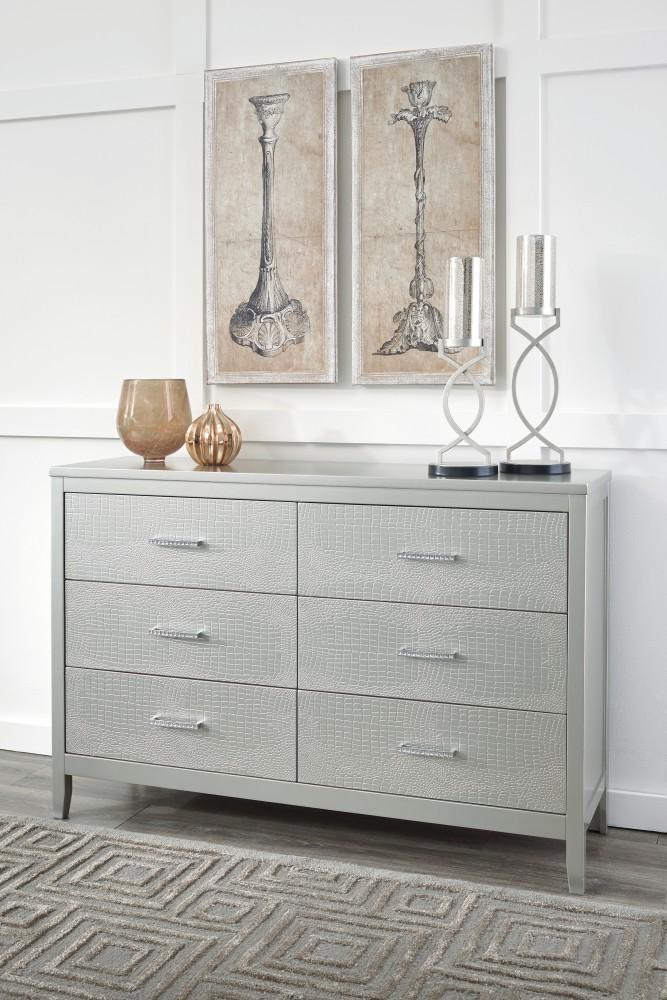 Olivet - Silver - Dresser
