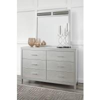 Olivet - Silver - Bedroom Mirror