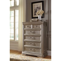 Birlanny - Silver - Six Drawer Chest