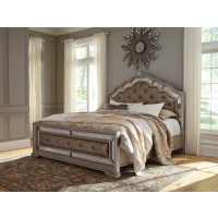 Birlanny King/California King Upholstered Panel Headboard