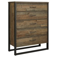 Sommerford - Brown - Five Drawer Chest
