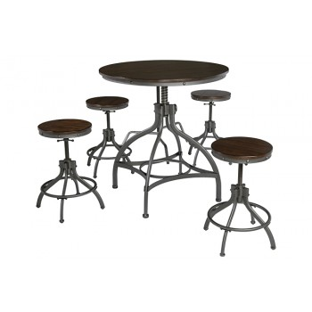 Odium - Brown - DRM Counter Table Set (5/CN)