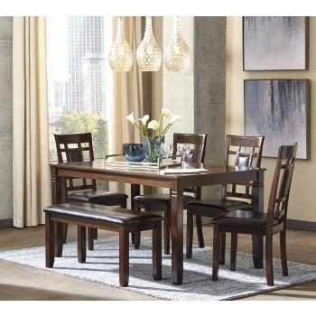 Bennox - Brown - Dining Room Table Set (6/CN)