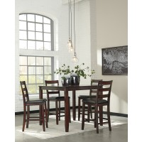 Coviar - Brown - DRM Counter Table Set (5/CN)