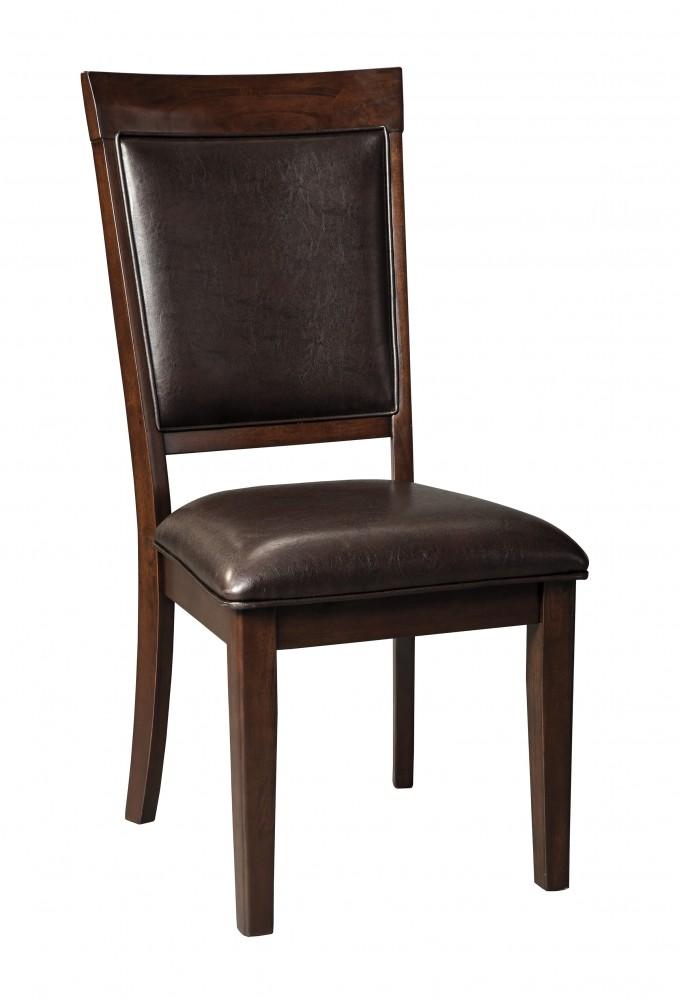 Shadyn - Brown - Dining UPH Side Chair (2/CN)