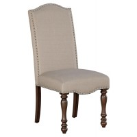 Baxenburg - Brown - Dining UPH Side Chair (2/CN)
