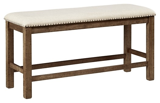 Moriville - Grayish Brown - Double UPH Bench (1/CN)