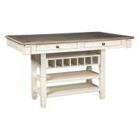 Bolanburg - Antique White - RECT Dining Room Counter Table