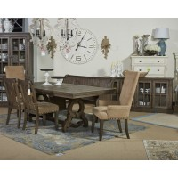 Wendota - Grayish Brown - Extra Large Dining Room Bench