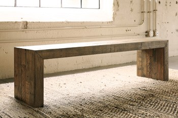 Sommerford Brown Large Dining Room Bench D775 09