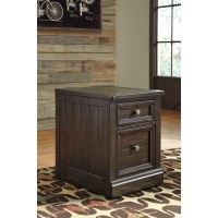 Townser - Grayish Brown - File Cabinet