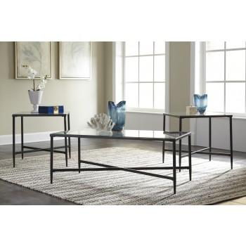 Augeron - Black - Occasional Table Set (3/CN)