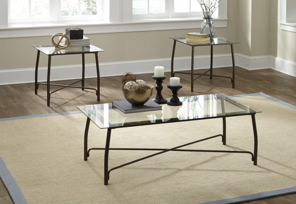 Burmesque - Bronze - Occasional Table Set (3/CN)
