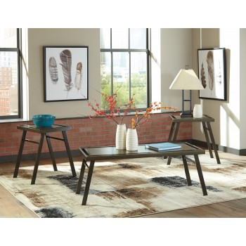 Farna - Brown - Occasional Table Set (3/CN)