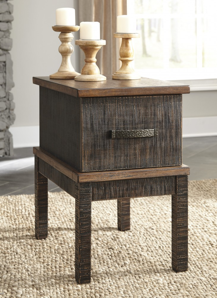 Stanah - Two-tone - Rectangular End Table