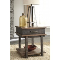 Stanah - Two-tone - Chair Side End Table