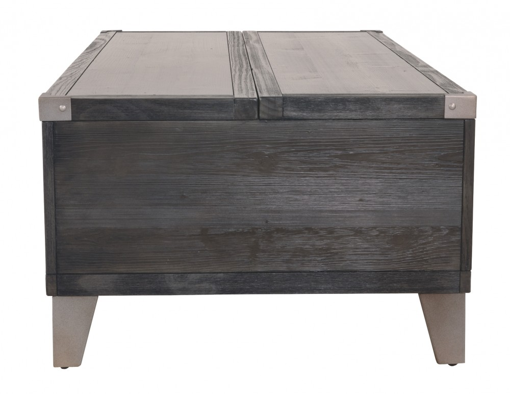 Todoe Dark Gray Lift Top Cocktail Table T901 9