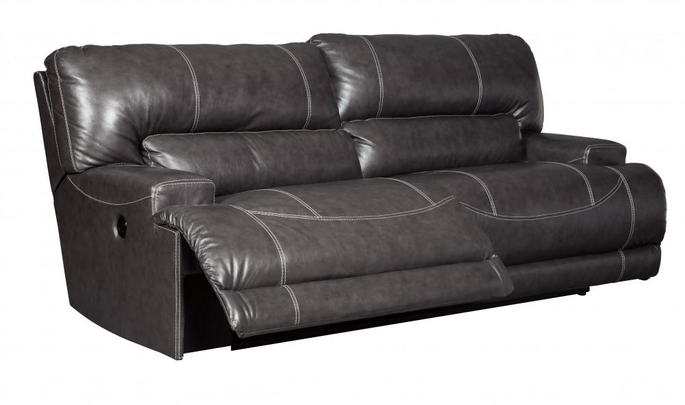 McCaskill - Gray - 2 Seat Reclining Power Sofa