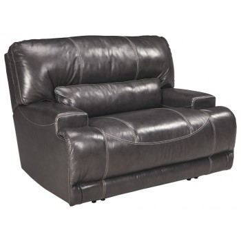 McCaskill - Gray - Wide Seat Recliner