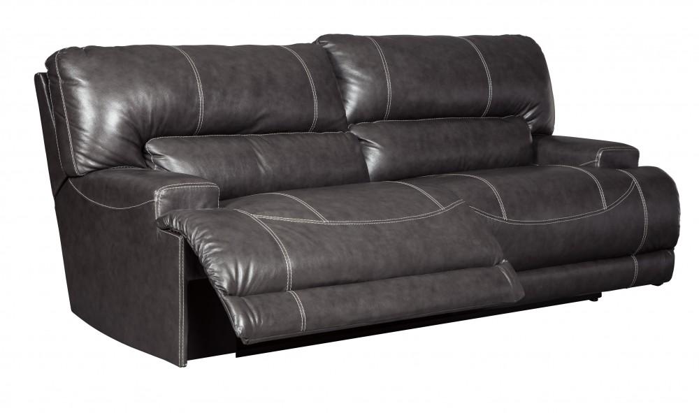 McCaskill   Gray   2 Seat Reclining Sofa