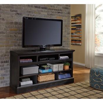 Sharlowe - Charcoal - LG TV Stand w/Fireplace Option